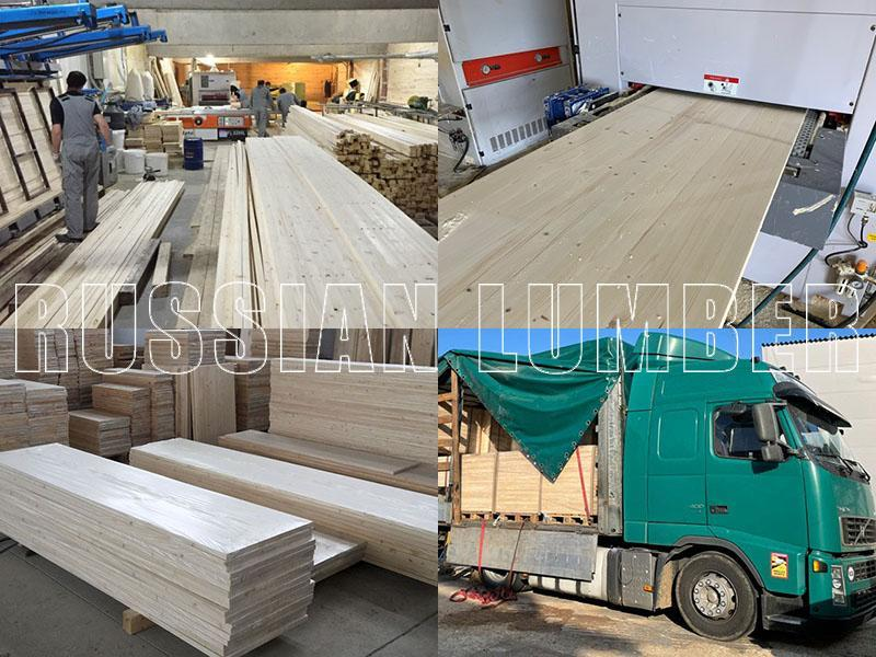 Spruce Edge Glued Solid Staves Panels